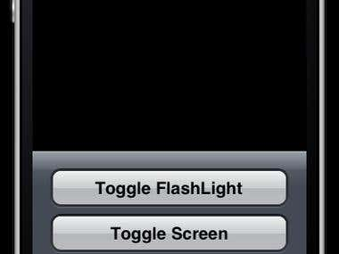 iPhone Flashlight Squared