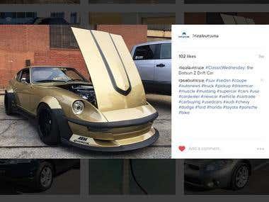 Instagram Marketing Project