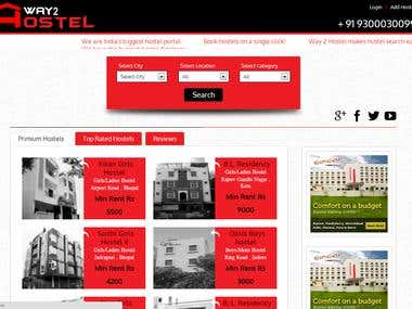 Hostel Search Project