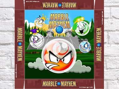 Marble Mayhem - Package Design