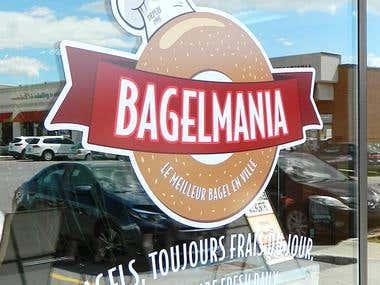 Bagelmania - Logo Design