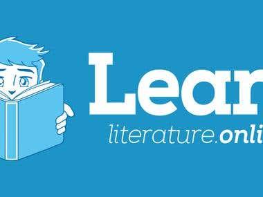 Learn Literature - Logo Design