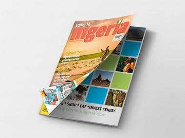 """Magazine """"Come to Nigeria"""""""
