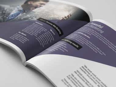 Toronto Web Marketing - Brochure Design