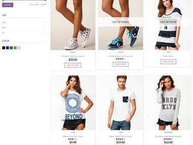 WordPress Shop