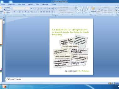 Convert the two PDF files into editable PowerPoint presentat