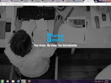 Startup Smurfs website