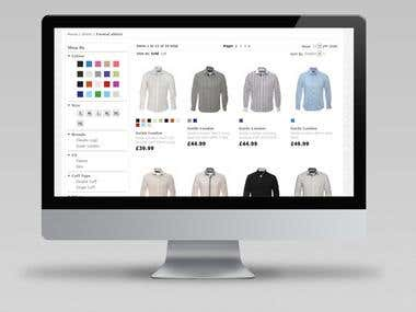 Grancos Magento website