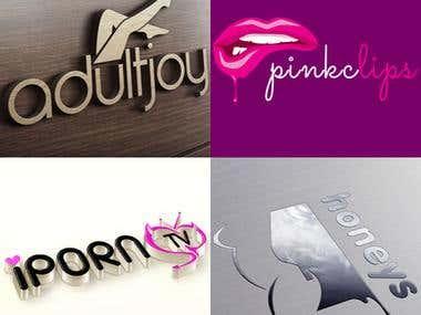 Adult Logos design