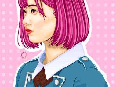 [Vector] Watanabe Risa