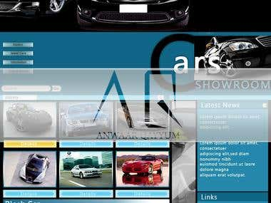 Cars Showroom Template