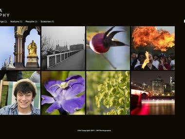 DK Photography Wordpress Theme