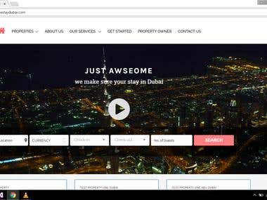 Awesome Stay Dubai - Website