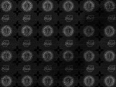 Umass Louis Vuitton Pattern