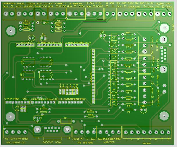 Adapter board for Arduino Mega | Freelancer