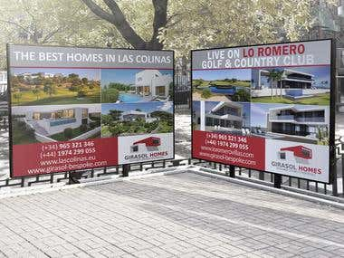 Real Estate Billboards