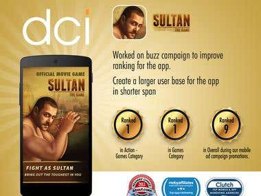 Sultan:‭ ‬The Game ‬App Marketing