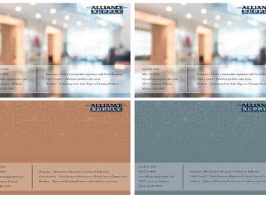 Luxury Hotel Cleaning Mailer