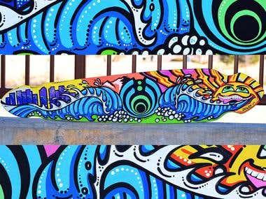 Bassdrop Skateboard