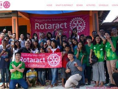 Rotaract Club Of Malioboro Website