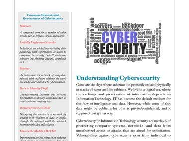 Sample Technical Article- Cybersecurity