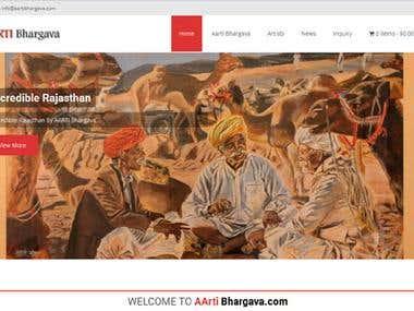 aartibhargava.com