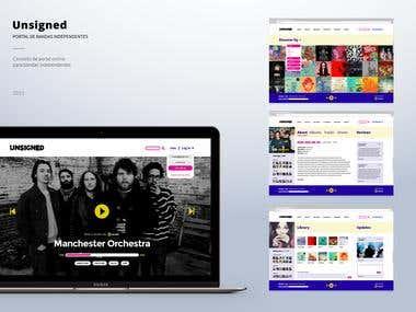 Independent bands website