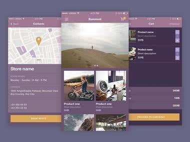 Ecommerce App.