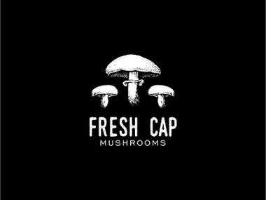 Fresh Cap Mushrooms