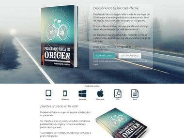 Book Landing Page Joomla, Drupal, & WordPress