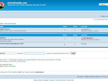 Example Web Forums