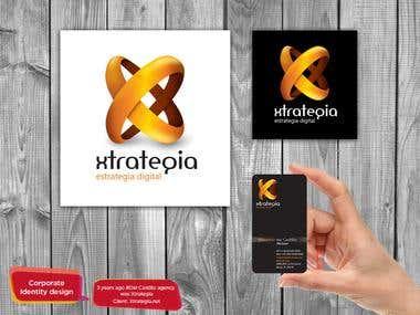 Xtrategia digital logo
