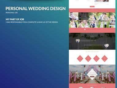 Wedding Site Invitation site Design