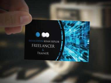 Business Card (Technological)