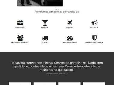 Website Novitta Rent a Car