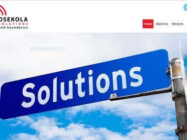 Mosekola Solutions http://mosekola.co.za/