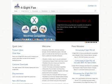 4sightfax: Wordpress plugin