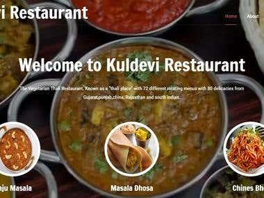 www.kuldevirestaurant.com