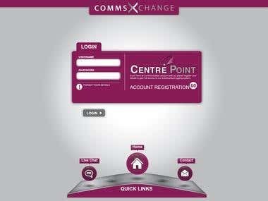 CommsXchange: Ticket system
