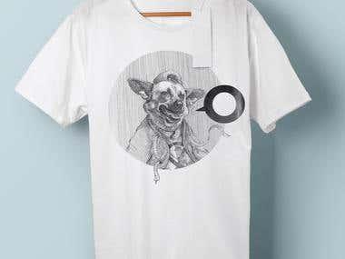 t-shirt illustration design.