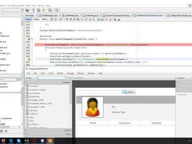 JavaFX/Swing Netbeans RPC Platform