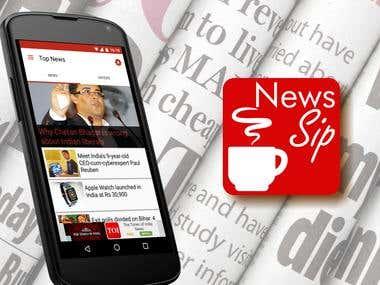News Sip App