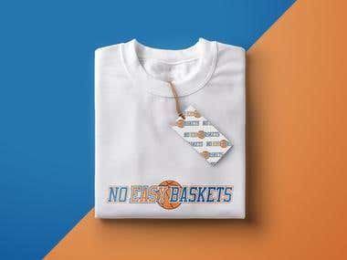 No Easy Baskets - Logo Design