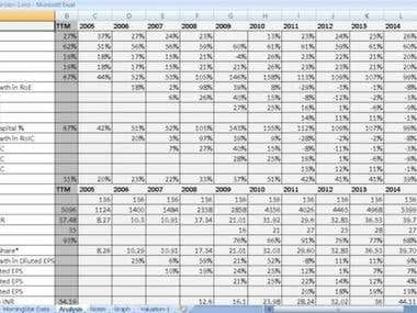 Excel-stock-analysis-spreadsheet-2