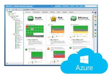vRealize Operations Manager to MS Azure solution