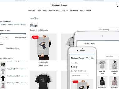 Ateekeen WordPress Theme