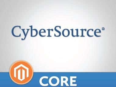 CyberSource Payment Gateway Magento Extension