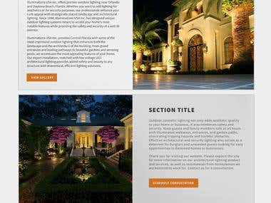 Premium Outdoor Lighting Site