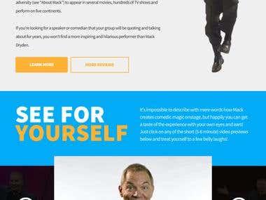 Comedian Site