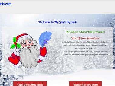 My Santa Report